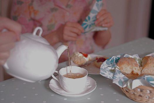 Afternoon tea workshop with Caroline
