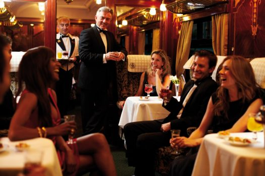 Belmond British Pullman Dinner ©Matt Hind