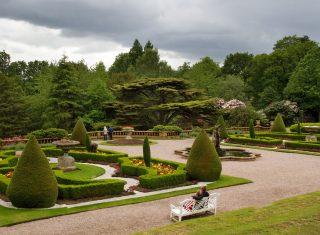 Italian Garden at Tatton Park NCN