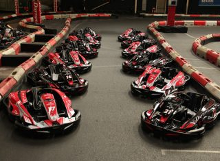 Kart Line up at Daytona Manchester - © Daytona Motorsport