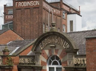 Robinsons Brewery exterior NCN