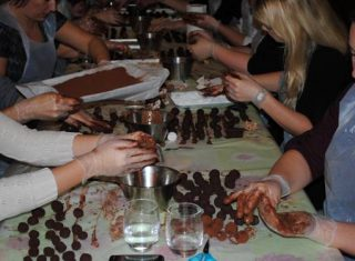 Chocolate Making at the Cocoa Box Manchester NCN