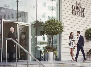 The Lowry Hotel Manchester Exterior